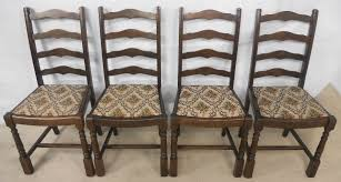 Antique Oak Ladder Back Chairs Antique Carved Chair Dining Ladderback Antique Auto Club