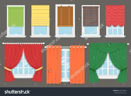 100 types of window treatments a close up of different types of