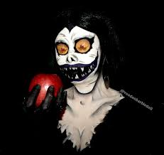 Death Note Halloween Costume Ryuk Shinigami Death Note Cosplay Makeup Follow