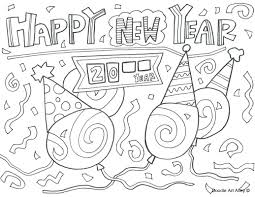 happy 2014 coloring pages free colouring 2016