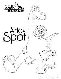coloring pages spot arlo spot from dinosaur get coloring pages