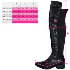 boots uk wide fit black knee high boots from spylovebuy com