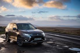 mitsubishi grey 2017 mitsubishi outlander phev gets performance upgrade slightly