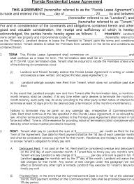 free rental lease agreement download download florida residential lease agreement for free tidyform