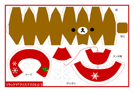 christmas paper craft templates u2013 fun for christmas