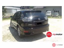 lexus harrier for sale 2007 toyota harrier for sale in malaysia for rm49 800 mymotor