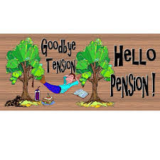 goodbye tension hello pension 7 best pension comic images on investing retirement