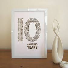 10 year wedding anniversary gift wedding anniversary gift for my imbusy for