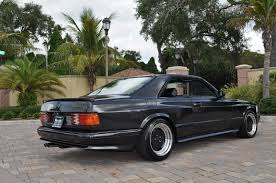 mercedes 560 sec coupe for sale black series 4 of 4 1987 mercedes 560sec amg widebody 6 0