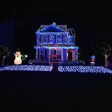 lights familys christmas display sets world record decorating