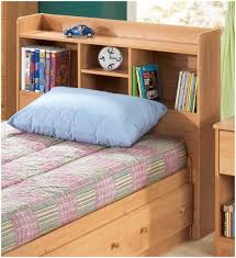 Modern Single Bed Designs With Storage Furniture Home King Bed With Bookcase Headboard Large Image For