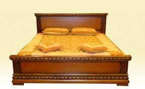 carved bed buy in bangalore