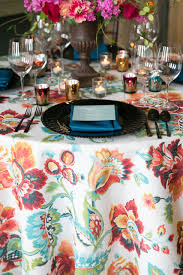 rent linens biscayne floral table linen rental for special events fabulous