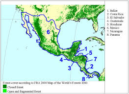 map central mexico chapter 35 central america and mexico