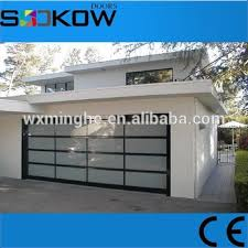 Glass Overhead Garage Doors Residential Glass Overhead Door Polycarbonate Garage Door Prices