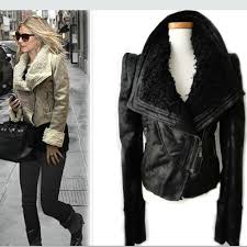 arrow womens military leather jacket