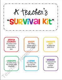 great gifts for new gift survival kit tags for a new or student