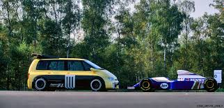 renault f1 tank concept flashback 1994 renault espace f1 38 photos