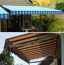 Sunbrella Retractable Awning Prices Retractable Patio Awnings Rainier Shade