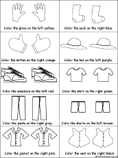 clothes coloring pages clothes drawing and coloring worksheets enchantedlearning com