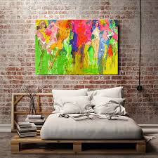 aliexpress com buy a1784 leroy neiman abstract sexy girl dancing aliexpress com buy a1784 leroy neiman abstract sexy girl dancing hd canvas print home decoration living room bedroom wall pictures art painting from