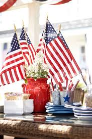 Fourth Of July Table Decoration Ideas Independence Day Table Decorations