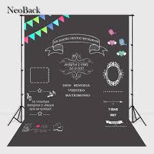 wedding backdrop chalkboard neoback blackboard wedding photographic background custom memorial