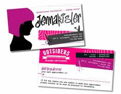 Business Card Express Marlton Nj Beauty Hair Salon Professional Trendy Sheers Business Card
