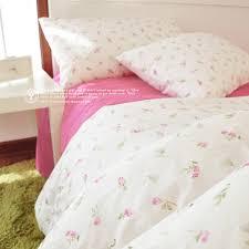 Little Girls Queen Size Bedding Sets by Korean Little Pink Rose Pattern Bedding Sets Floral Comforter