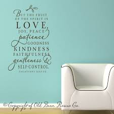 Dining Room Decals The Fruit Of The Spirit Love This For My Dining Room Too