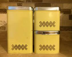 kitchen canisters canada canister set etsy