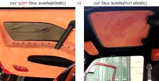 Car Upholstery Adhesive Adhesive Spandex Upholstery Faux Suede Fabric For Car Coat Auto