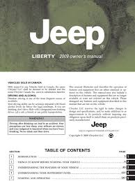 2009 jeep liberty owners manual pdf seat belt airbag
