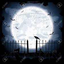 scary halloween photos free scary halloween night background crow in the cemetery