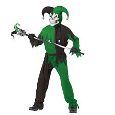totally ghoul evil jester boys u0027 halloween costume