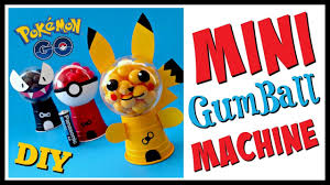 Gumball Party Favors Diy Pokemon Go Mini Gumball Machines Party Favors Geeky