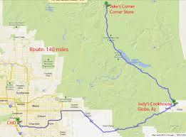 Apache Junction Az Map Riding Maps Foothills H O G Chandler Arizona