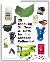 gift ideas for outdoorsmen stuffers and gifts for the outdoor enthusiast