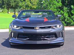 camaro rs v6 2017 chevrolet camaro 2lt rs convertible 50th anniversary edition