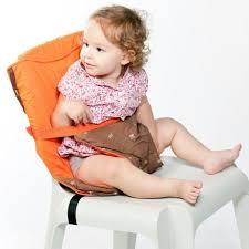 siege bebe adaptable chaise babytolove chaise nomade réversible orange orange et chocolat
