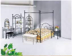 Canopy Bedroom Furniture Sets by Sunburst Metal Canopy Bedroom Set Bedroom Sets Af 02084 Set 2