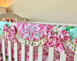 pink gold bedding etsy