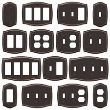 light switch covers 3 toggle 1 rocker switch plate outlet cover rocker toggle light wall plate oil