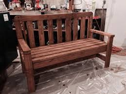 Diy Wooden Garden Furniture by Best 25 Build A Bench Ideas On Pinterest Diy Wood Bench Bench