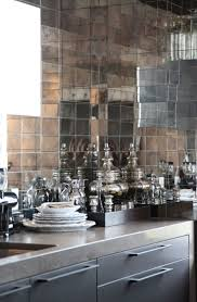 decorative kitchen ideas antique mirror glass backsplash tile and tiles for your unique