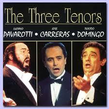 luciano pavarotti josé carreras placido domingo the three