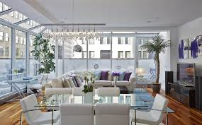 living room black brick wall fireplace upholstered sofa table