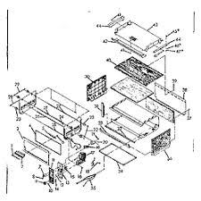 Kitchenaid Toaster Oven Parts List Toastmaster Toastmaster Toaster Oven Parts Model 365 Sears