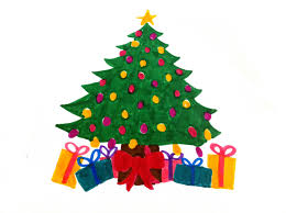 Anime Christmas Tree Ornaments Christmas Tree Drawing S Free Download Clip Art Free Clip Art