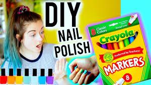 diy make nail polish out of markers youtube